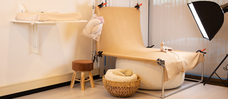 DVO fotografie - Denise van Oers - Newborn setting studio